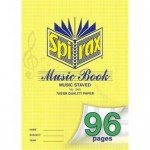 Spirax 544 Music Book  A4 96 pages (Min order Qty 2)