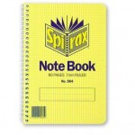 Spirax 564 Note Pad 167x114mm   Side opening 80 page (Min order: 10)