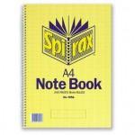 Spirax 595A Notebook A4 240 page (Min order: 5)