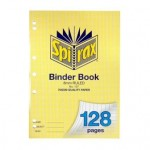 Spirax 127 Binder Book A4 128 page (Min order: 10)