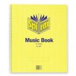 Spirax 567 Music Book  297x248mm 15 leaf (Min order Qty 2)