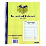 Spirax 500 Tax Invoice &  Statement Book 250X200mm