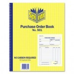 Spirax 501 Purchase Order Book