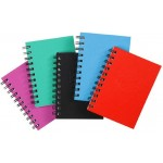 Spirax 510A Hardcover Notebook A6 200 Page Assorted Colours (Min Order Qty 5)