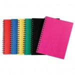 Spirax  511 Hardcover Notebook  200 page Assorted  (Min order: 5 assorted)