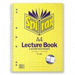 Spirax 598 Lecture Book A4 140 page (Min order Qty 5)