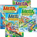 Mega Activity Pad Series 3 Assorted Pack of 12 (Min Order Qty 1)