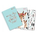 Cumberland Aspen 2021 A5 Day to Page Diary Assorted (Min Order Qty 6) ***Available August 2020***