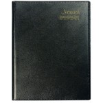 Cumberland Norwich Financial Year Diary 2020/2021 A6 Week to View Spiral Black (Min Order Qty 1)