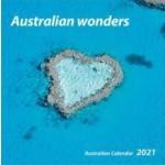 Australian Wonders 2021 Square Wall Calendar (Min Order Qty 5)