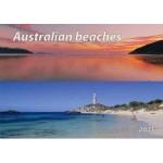 Australian Beaches 2021 Wall Calendar (Min Order Qty 5)