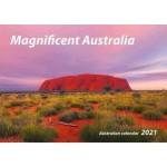 Magnificent Australian 2021 Wall Calendar (Min Order Qty 5)