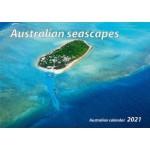 Australian Seascapes 2021  Wall Calendar (Min Order Qty 5)