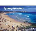 Sydney Beaches 2021 Wall Calendar (Min Order Qty 5)