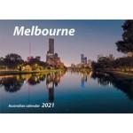Melbourne 2021 Wall Calendar (Min Order Qty 5)