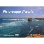Picturesque Victoria 2021 Wall Calendar (Min Order Qty 5)