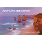 Australian Inspirations 2021 Desktop Calendar (Min Order Qty 5)