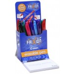 Pilot FriXion Ball Fine 0.7mm Assorted Colours Display of 24 (Min Order Qty 1)