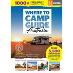 Hema Where to Camp Guide Australia (Min Order Qty 1)
