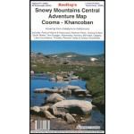 Rooftops Snowy Mountains Central Adventure Map, Cooma- Khancoban Map (Min order Qty 1)