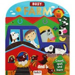 3D Board Book Busy Farm (Min Order Qty 2)