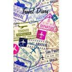Travel Diary Passport 150 x 95mm (Min Order Qty 2)