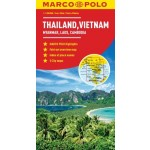 Marco Polo Thailand, Vietnam, Myanmar, Laos, Cambodia Map (Min Order Qty 1)