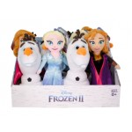 Frozen 2 Plush Display of 12 (Min Order Qty 1)
