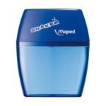 Maped Shaker Sharpener 2 Hole Box of 20 Assorted Colours (Min Order Qty 1)