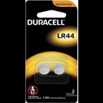 DURACELL 1.5V ALKALINE LR44 (LR44/A76/413GA) 2 PACK  -  Min. Order 2