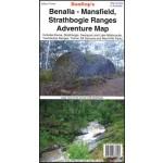 Rooftops Benalla - Mansfield - Strathbogie Ranges Adventure Map (Min Order Qty 1)