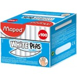 Maped Chalk White Box of 100 (Min Order Qty 2)