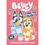 Bluey Time to Play Sticker Activity Book (Min Order Qty 3)