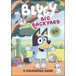 Bluey: Big Backyard Colouring Book (Min Order Qty 2)