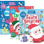 Christmas Sticker & Activity Books Assorted  (Min Order Qty Pack of 12)
