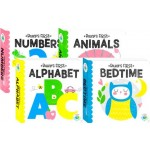 Building Blocks Neon Baby's First Numbers, Animals, Alphabet and Bedtime (Min Order Qty 8)