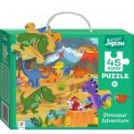 Dinosaur Adventure Junior Jigsaws 45 Piece (Min Order Qty 2)
