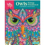 Hello Angel Colouring Book Owls (Min Order Qty 3)