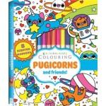 Kaleidoscope Colouring Kit: Pugicorns & Friends (Min Order Qty 2)