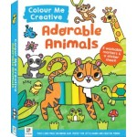 Colour Me Creative: Adorable Animals (Min Order Qty 2)