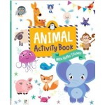 Animal Activity Book with Glitter Stickers (Min Order Qty 3)