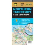 UBD/Gregory's Northen Territory State & Suburban 571 Map #12 (Min Order Qty 2)