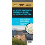 UBD/Gregorys Albury Wodonga, Murray River & High Country 381 Map #19 (Min Order Qty 2)