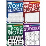 Solve It! Puzzles: Word Search 1&2, Crossword & Sudoku (Min Order Qty 12)