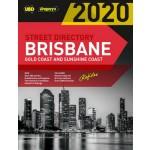Brisbane, Gold Coast & Sunshine Coast 2020 Street Directory #58 UBD/Gregory's (Min Order Qty 1)