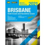 Brisbane, Gold Coast & Sunshine Coast Street Directory 2020 (Min Order Qty 1)
