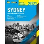 Sydney & Blue Mountains Street Directory 2021 Ed 57 (Min Order Qty 1)