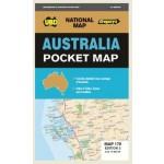 UBD/Gregory's Australia Pocket Map 179 3rd Ed. (Min Order Qty 2)
