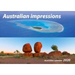 Australian Impressions 2020 Wall Calendar (Min Order Qty 5)