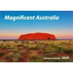 Magnificent Australian 2020 Wall Calendar (Min Order Qty 5)